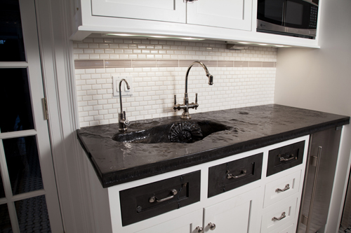 how to clean the top of gas stove