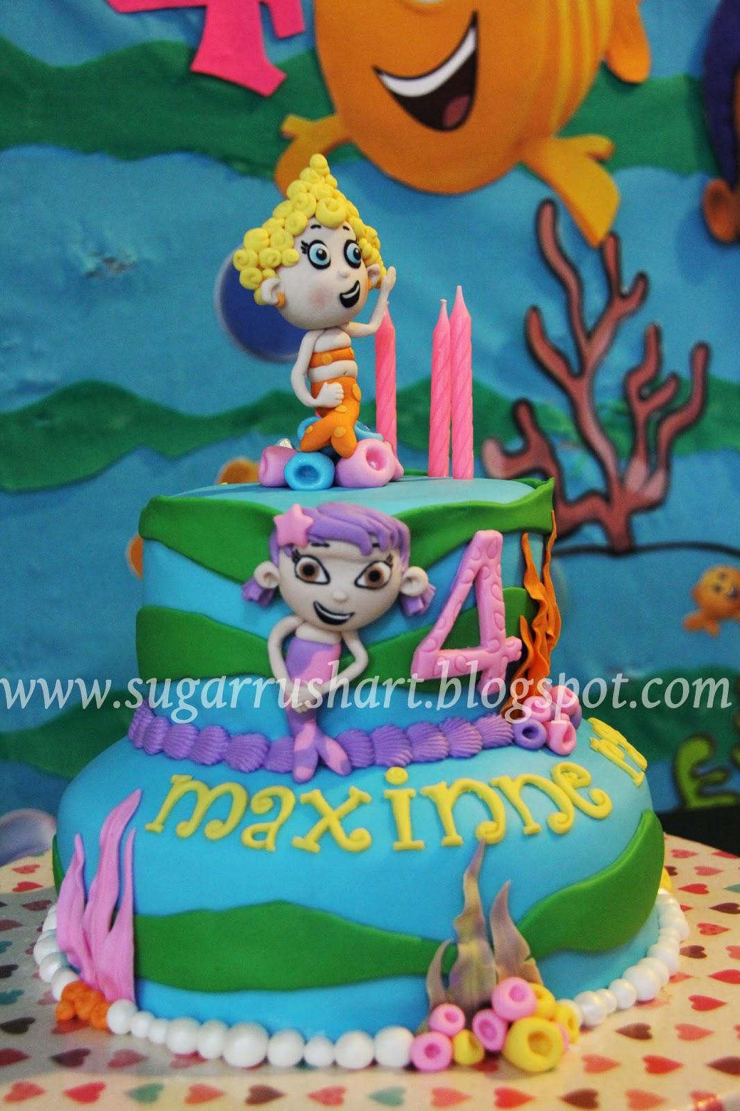 Sugar Rush Art Bubble Guppies Birthday Cake