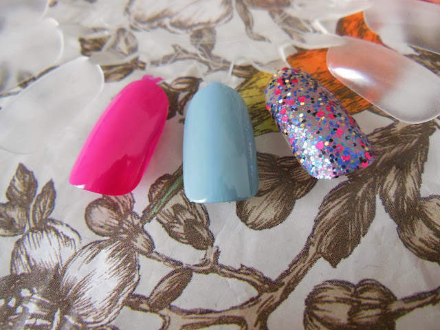 Nails Inc Spring Summer swatches
