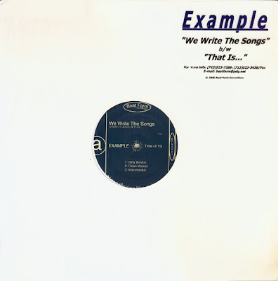 Example – We Write The Songs / That Is… (VLS) (2000) (320 kbps)