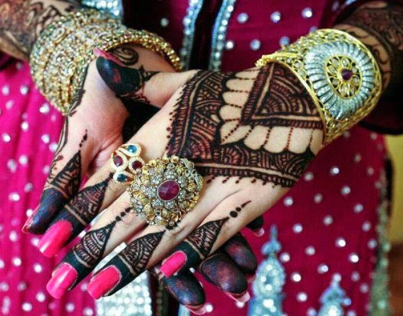 Inai Jenama Party Mehndi : Beautiful latest simple arabic pakistani indian bridal