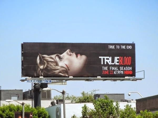 True Blood True to the end season 7 billboard