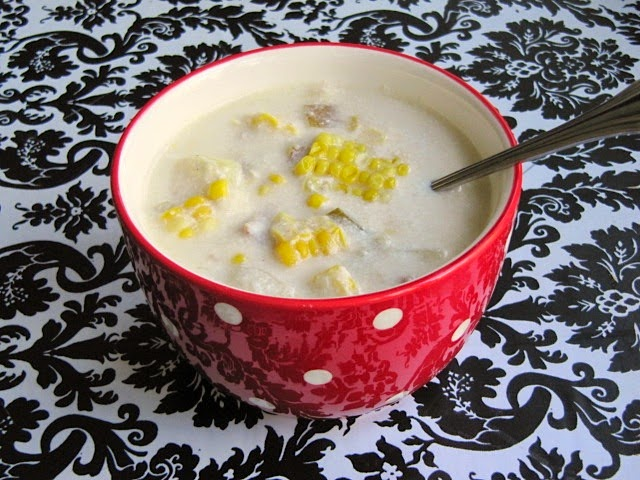 corn on the cob chowder
