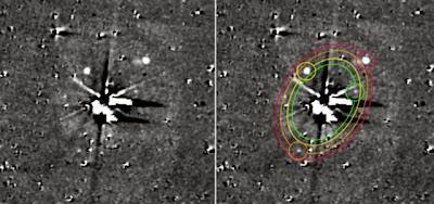 Hipernovas: Sonda New Horizons da NASA Vê Cinco Luas em Plutão [Artigo + Gif]