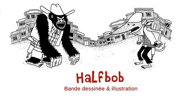 Halfbob - illustration et bande dessinée