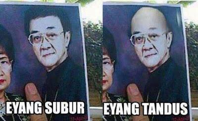 Foto Lucu Eyang Subur - Editan