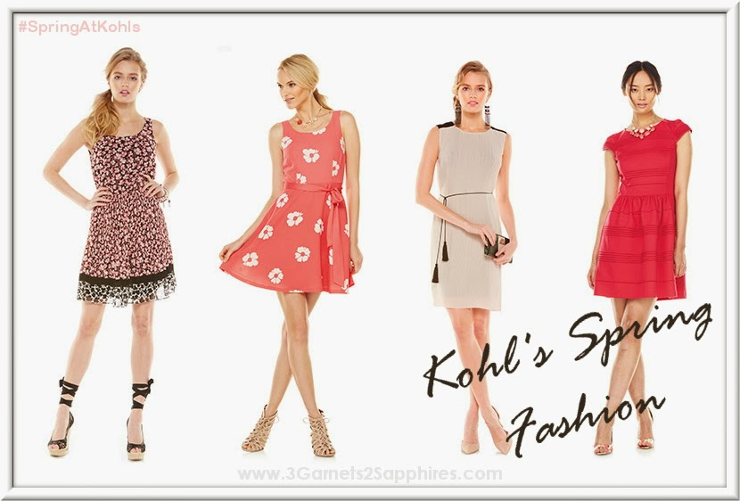Kohl's Fashion Trends for Spring 2014 - #SpringAtKohls