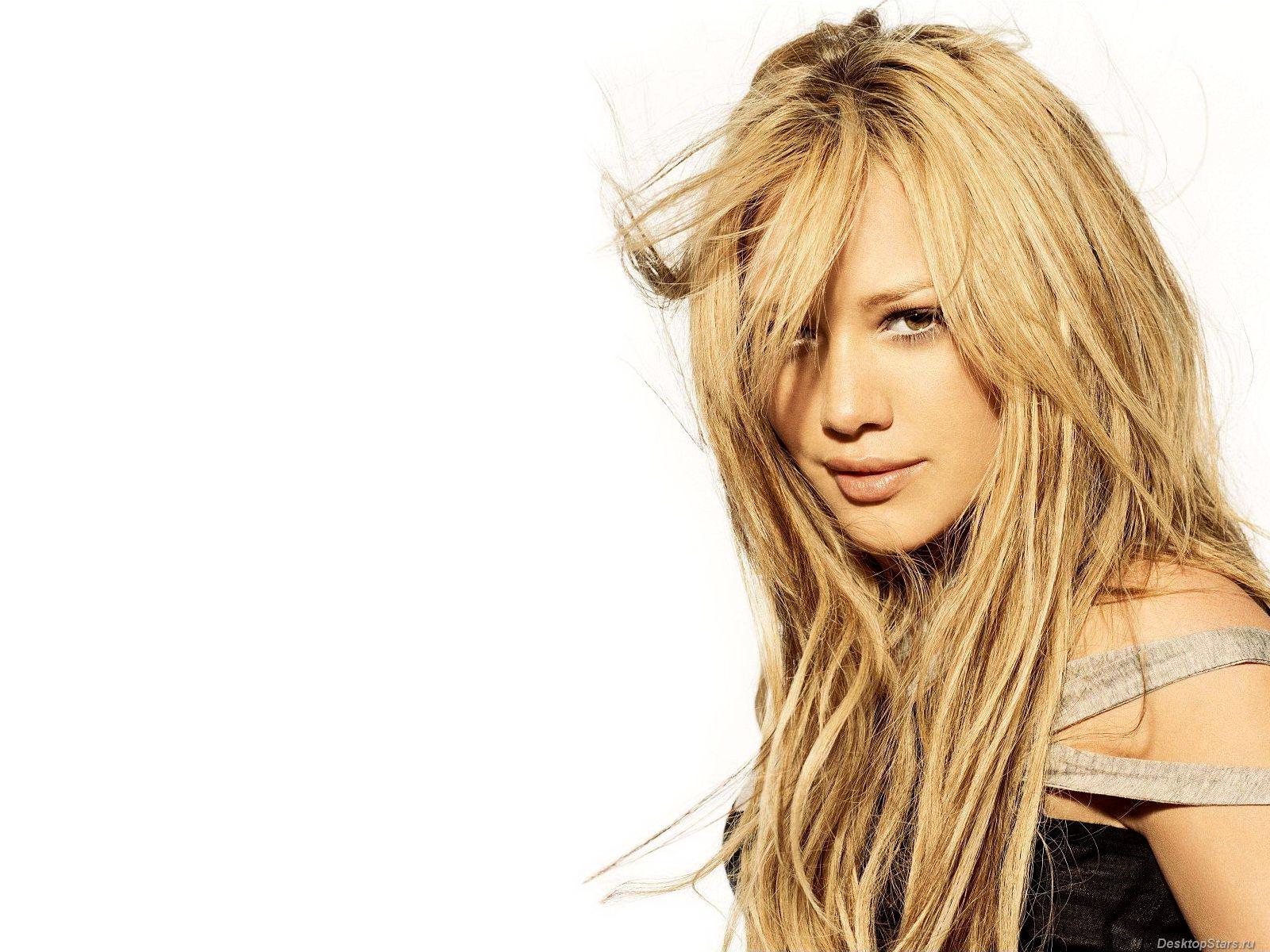 Hilary Duff During Photoshoot