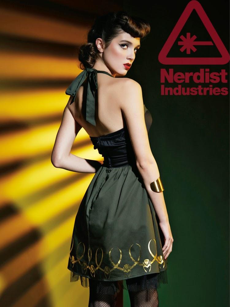 Marvel lança roupas femininas inspiradas nos Vingadores - Vestido Loki