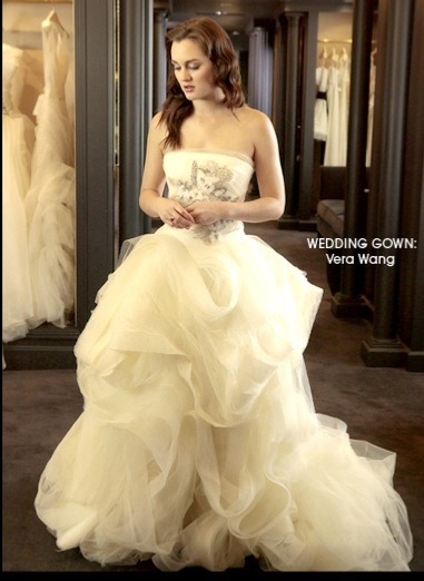 Impressive wedding dresses for runaway bride blair waldolf for Wedding dress blair waldorf
