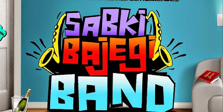 Poster Of Bollywood Movie Sabki Bajegi Band (2015) 100MB Compressed Small Size Mobile Movie Free Download worldfree4u.com