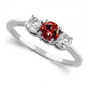 wedding ring - Red Wedding Rings