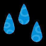 梅雨のマーク(雨)