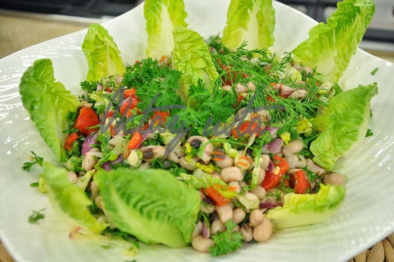 Köz Biberli Börülce Salatası Tarifi