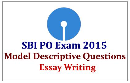 sbi po descriptive paper essay
