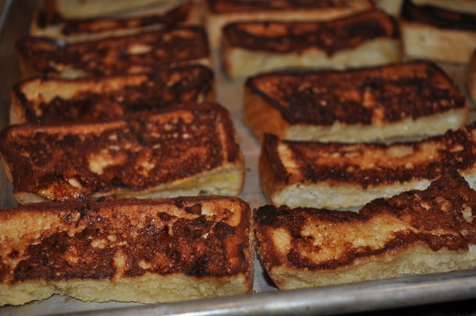 Baked French Toast Sticks They Were Easy To Make And Taste Wonderful I Put  Them In The Toaster Oven On