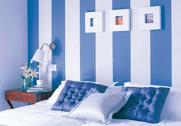 Margarida ruivo pinturas pintar figuras geom tricas nas for Como pintar un mural en una pared