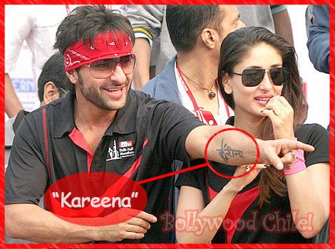 is Saif Ali Khan really get rid of 'Kareena tattoo ...