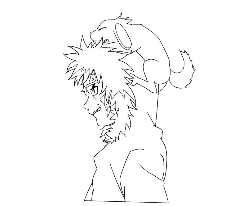 kiba coloring pages - photo#5