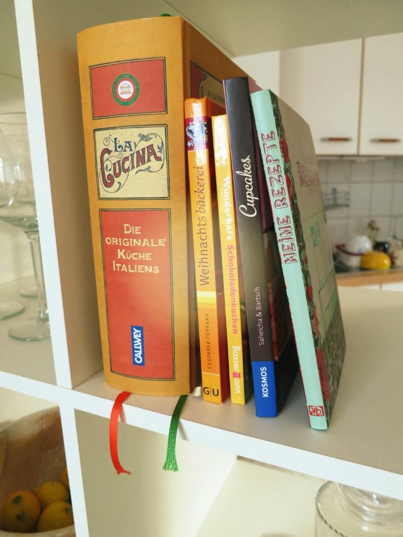 Kochbücher Deko