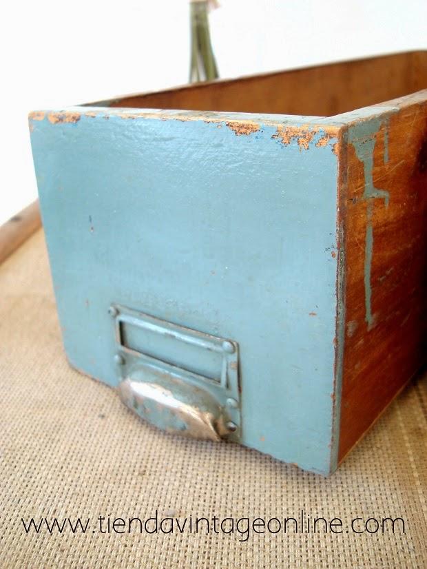 Caja de madera para decorar