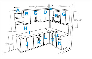 Kitchen L-shape