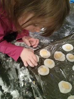 finishing eggs