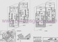 Whitley Residences 2nd storey floor plans