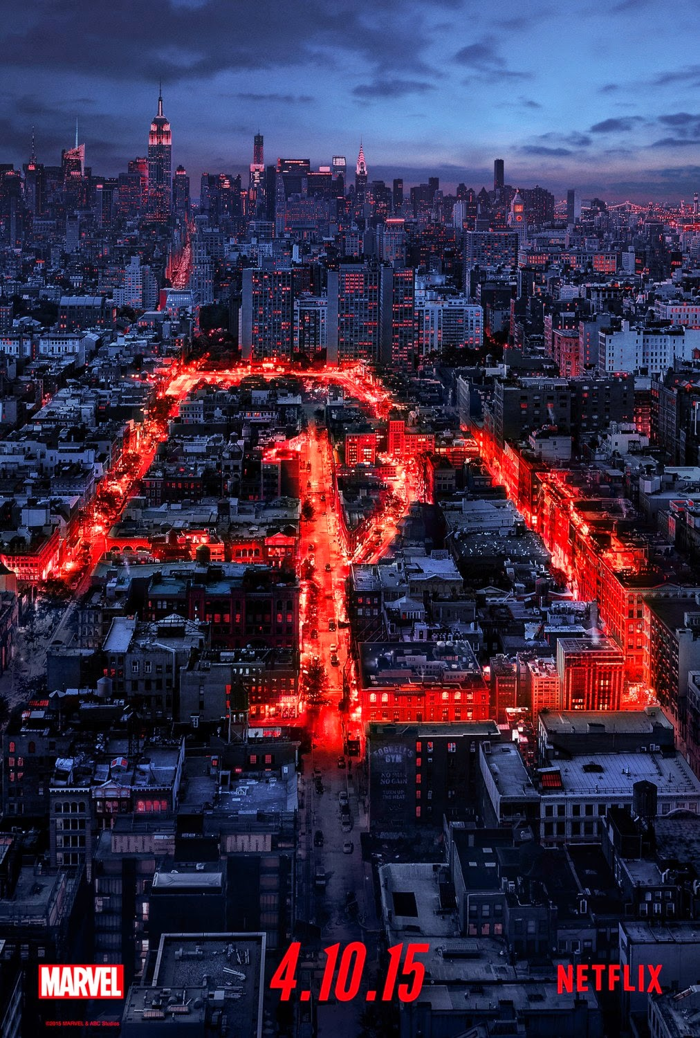 Marvel's Daredevil Teaser One Sheet Television Poster