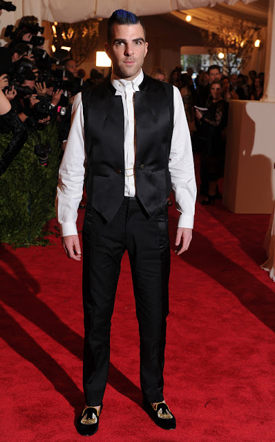 """Punk: Chaos to Couture"": confira os looks masculinos que pintaram no red carpet do Met Gala 2013"