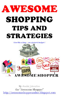 Awesome Shopping Tips and Strategies - Amber Johnston