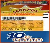 LOTTO e SUPERENALOTTO..