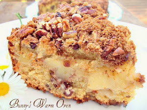 Apple Nut Sour Cream Coffee Cake