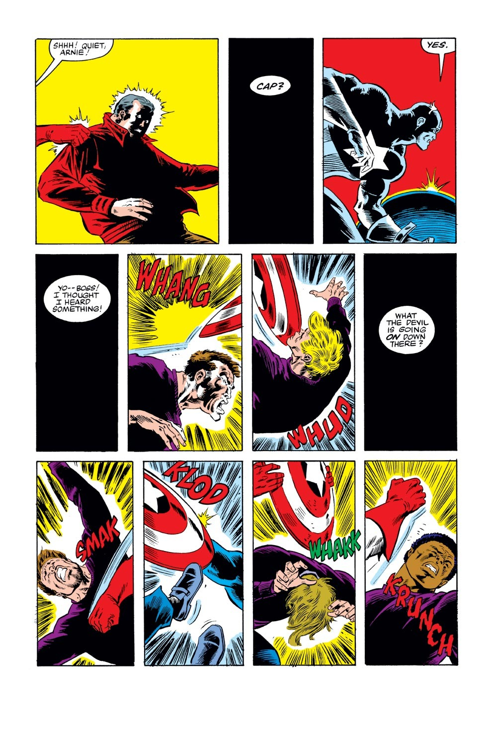 Captain America (1968) Issue #270 #186 - English 15
