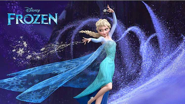 'Frozen' Tracing The Snow Princess New Fairy Tales