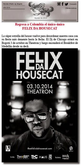 Felix-Da-House-Cat-cabeza-octubre-fiesta-Bogotá