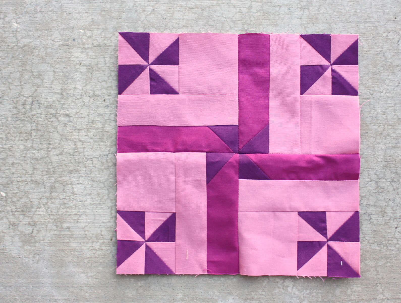 Virtual Quilting Bee Tutorial Block 9 Diary Of A