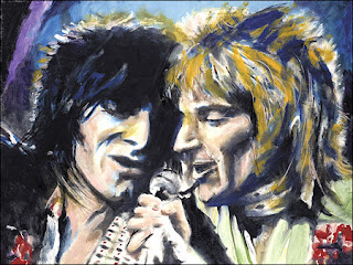 Rod Stewart y Jeff Beck