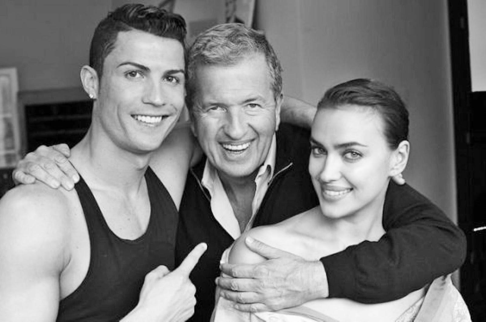Irina Shayk Cristiano Ronaldo Mario Testino