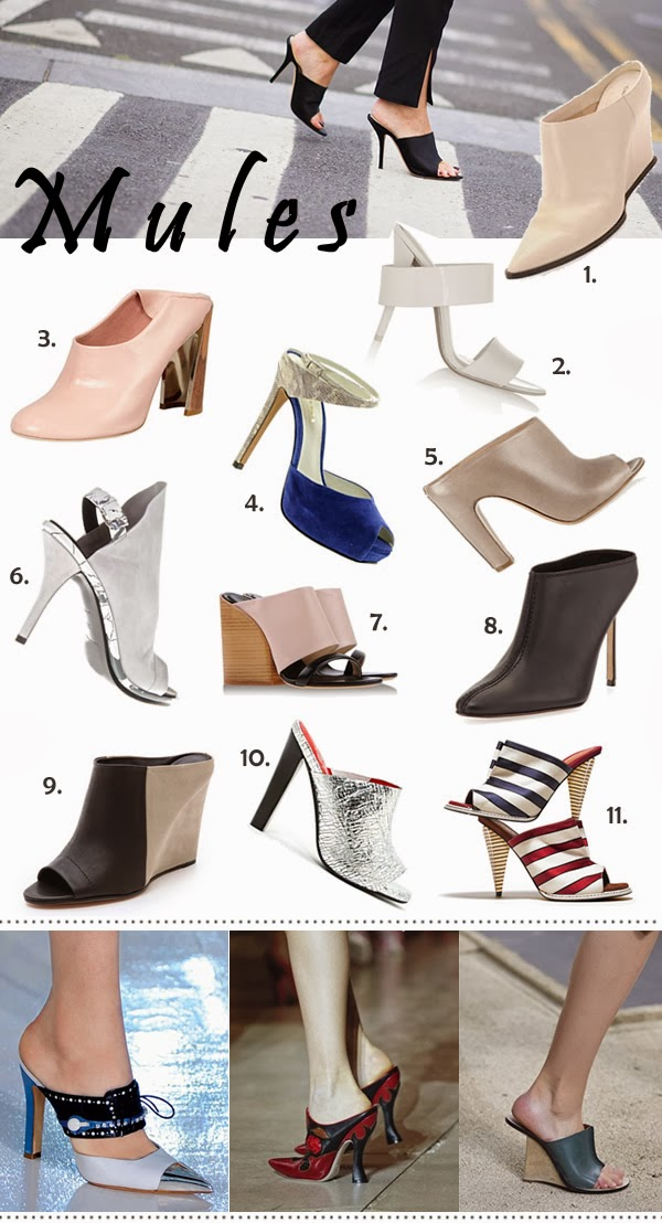 trend alert the new mule style shoe