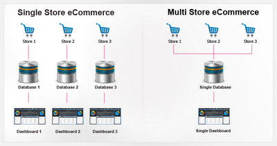 Multiple Ecommerce Store Management