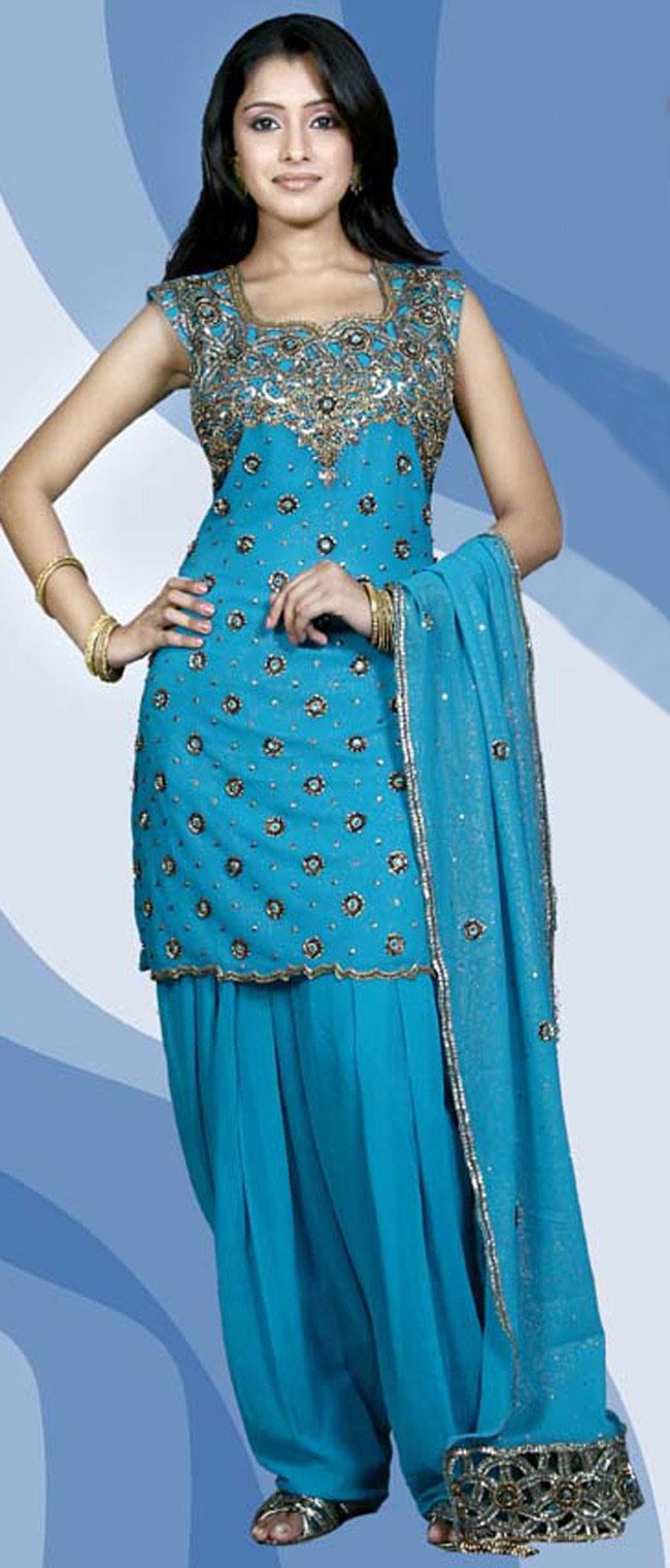 Cute Girls Salwar Kameez Designs 2011