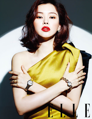 Lee Honey - Elle Magazine June Issue 2013