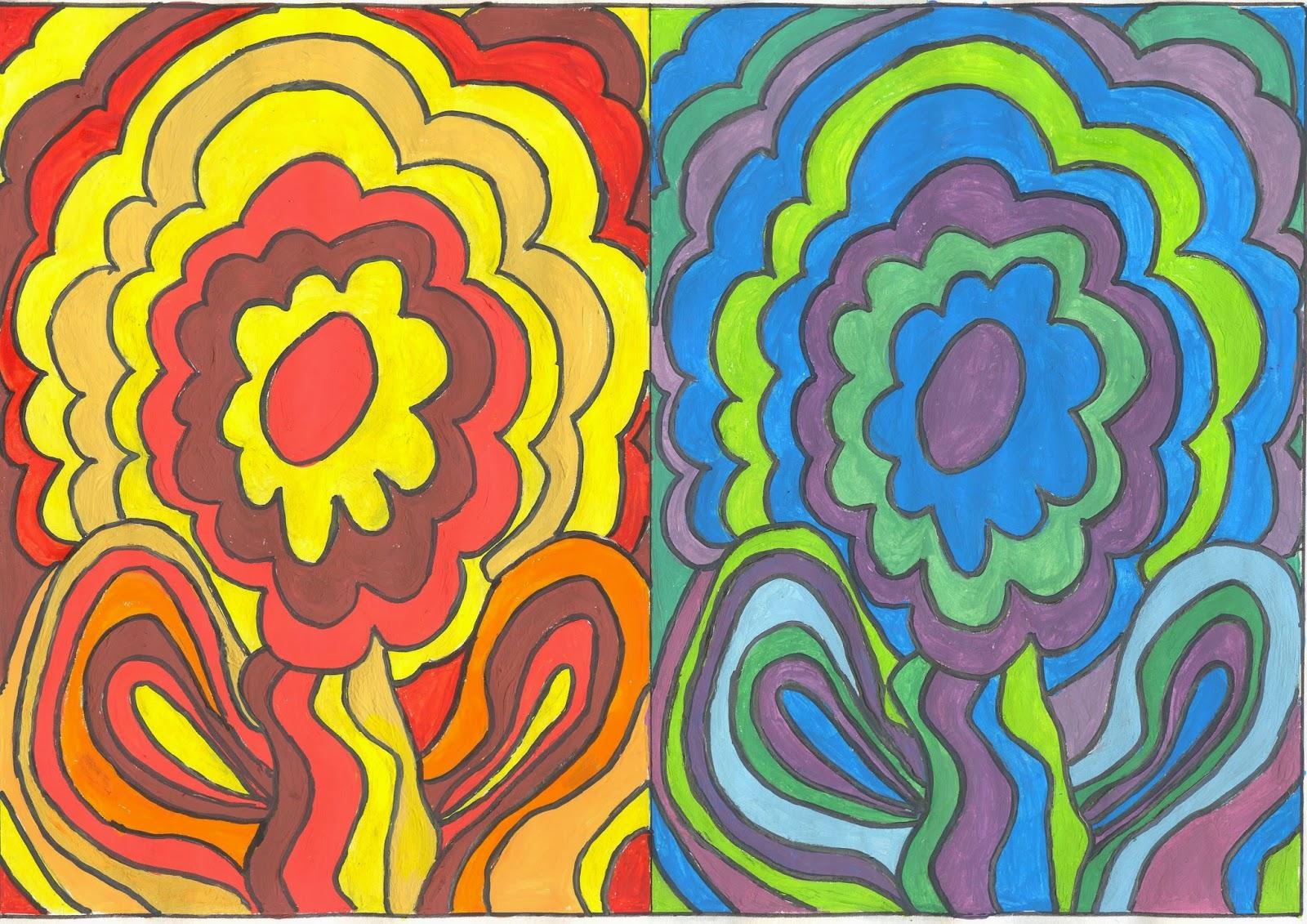 Ana nu o epv mayo 2015 - Colores frios y colores calidos ...