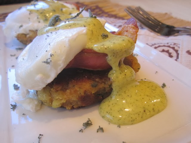 Stirring the Pot: Thanks Benedict on Stuffing Cakes with Sage ...