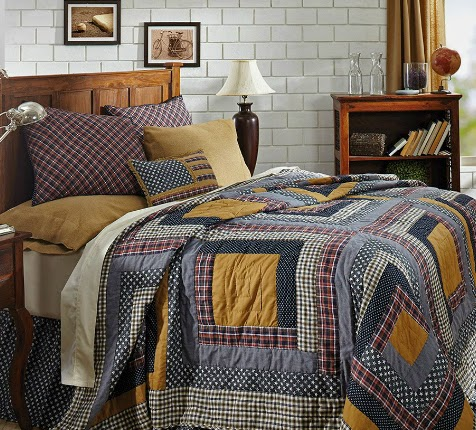Wesport quilted bedding from VHC brands - shop at Ladybug Junction