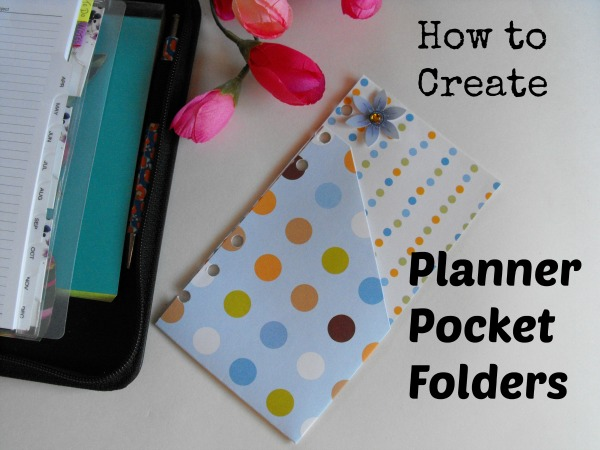 6 ring planner pocket folders