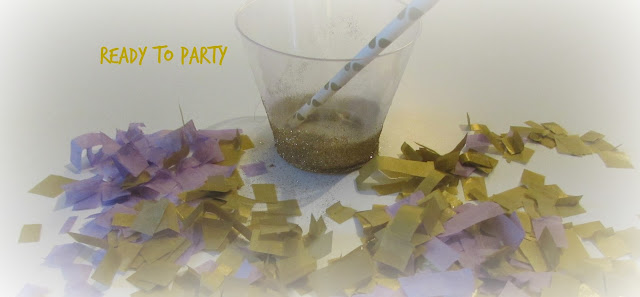 diy party glasses