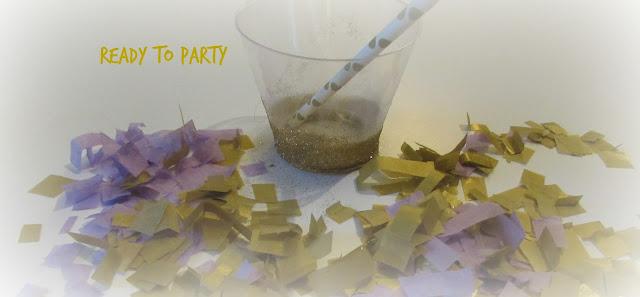 diy party glasses