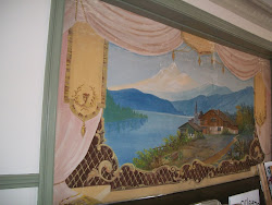 Painted Stage Curtain